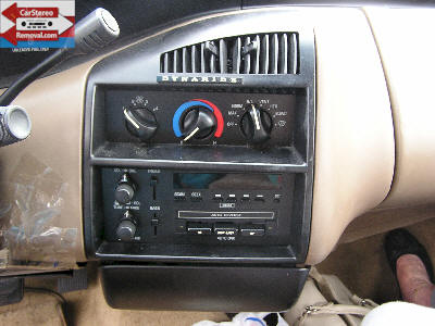 DIY How to Remove Car Radio