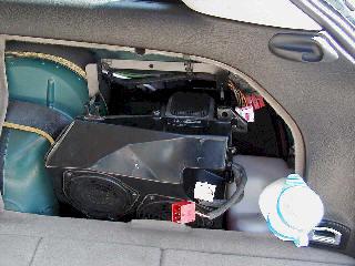 How to Remove Audi Avant Rear Bose Subwoofer Amplfier DIY