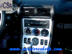 How to Remove BMW Z3 Car Stereo and Speaker Instructions Guide
