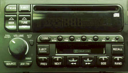 Factory Car Stereo Repair - Buick Delco stereo AM - FM - CD - CASSETTE - Bose repair