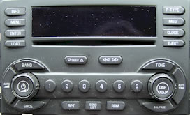 Chevrolet Malibu CD Changer Player Repair