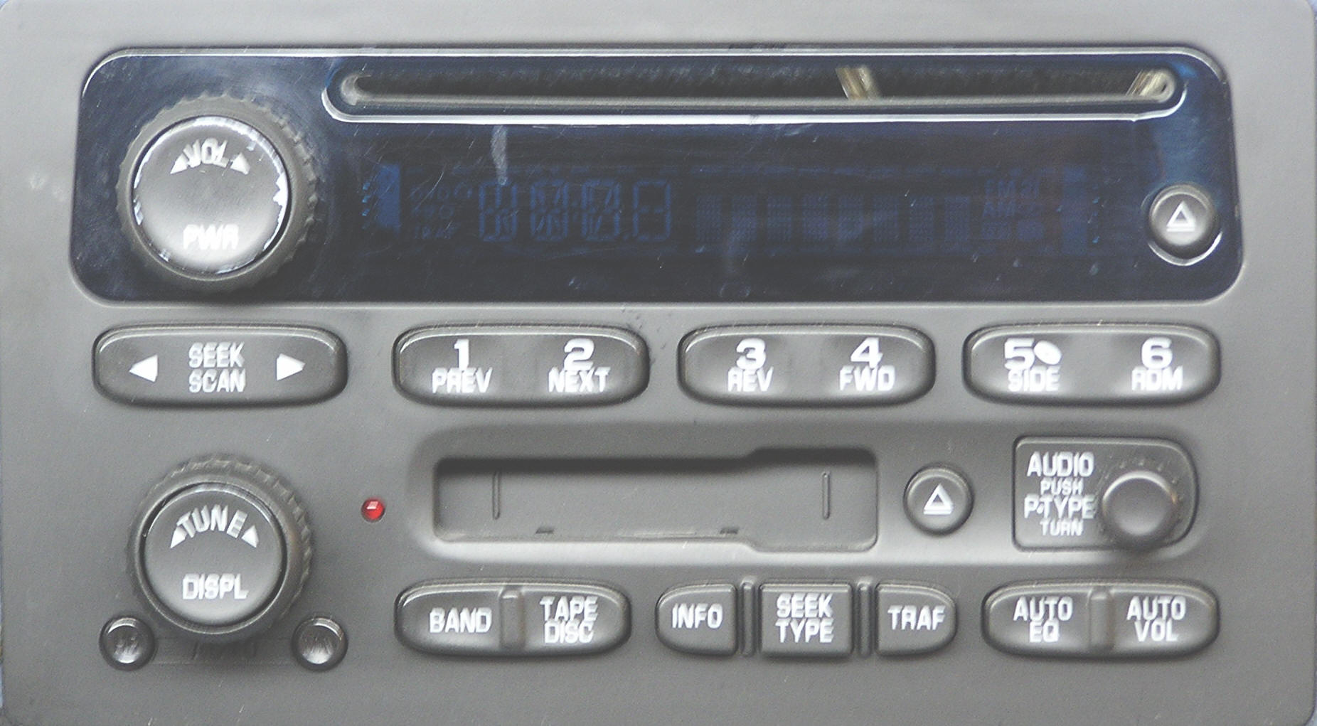 Chevrolet Single CD Player Repair