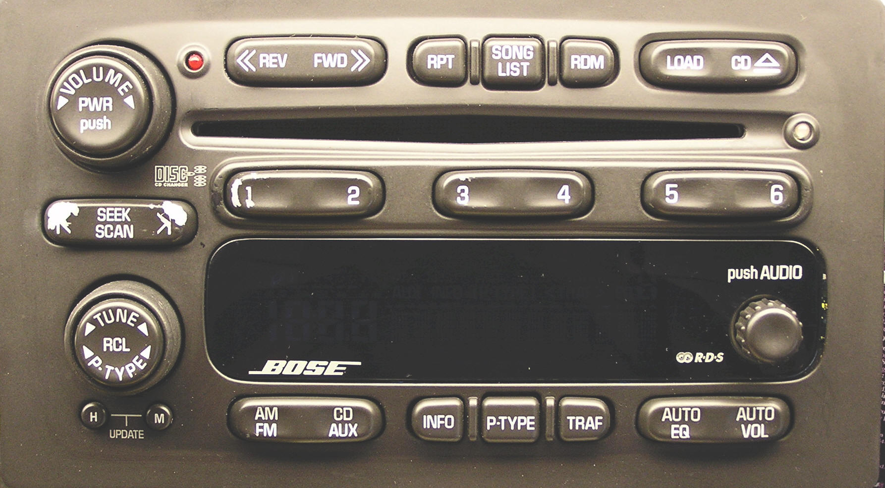 Chevrolet 6 CD Changer Repair