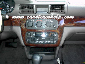 Chrysler Sebring Convertible Car Stereo Removal - How to Remove and Install Instruction Guide