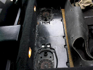 Corvette Convertible How To Instructions for Rear Bose Speaker Removal and Installation, We repair Corvette Bose Audio Amplifiers