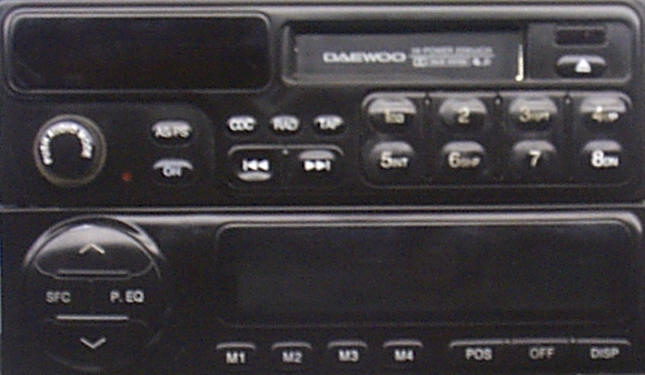 Daewoo Leganza Car Radio Repair - We Fix Daewoo Stereos