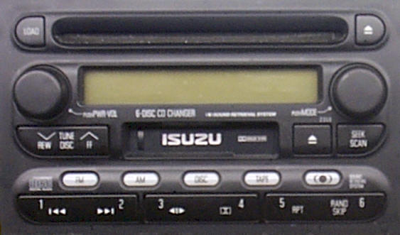 Isuzu 6 CD changer radio repair, Repairing Isuzu car stereo
