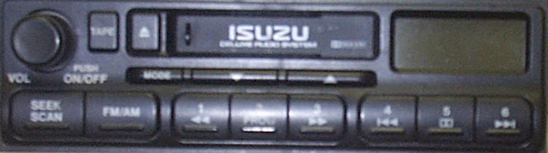 Factory Car Stereo Repair - Isuzu Auto Radio Tape Player - Bose Speaker Amplifier repair