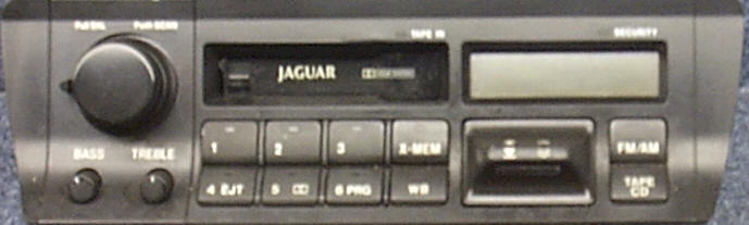 Jaguar Car Stereo Repair - XJ6 - Repair of Jaguar Car Radio with Removal and Installation Instructions