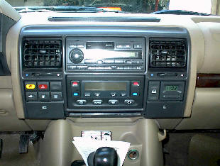 Car Stereo Removal - How to Remove and Install Land Rover Discovery II Car Stereo Instructions