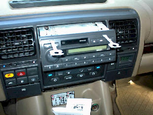 Car Stereo Removal - How to Remove and Install Land Rover Discovery 2 Car Stereo Instructions