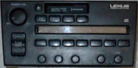 Factory Car Stereo Repair - Lexus LS 400 Pioneer - Car Stereo and Bose Repair