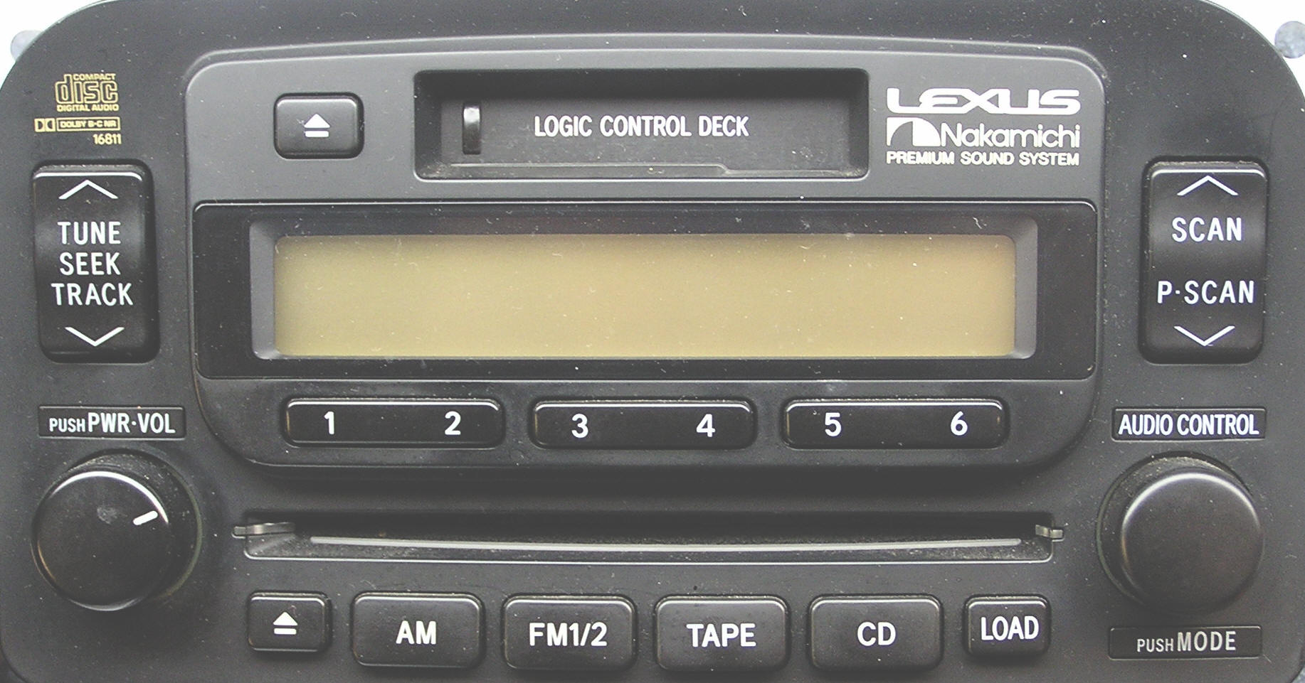Lexus LX car stereo removal, repair and installation