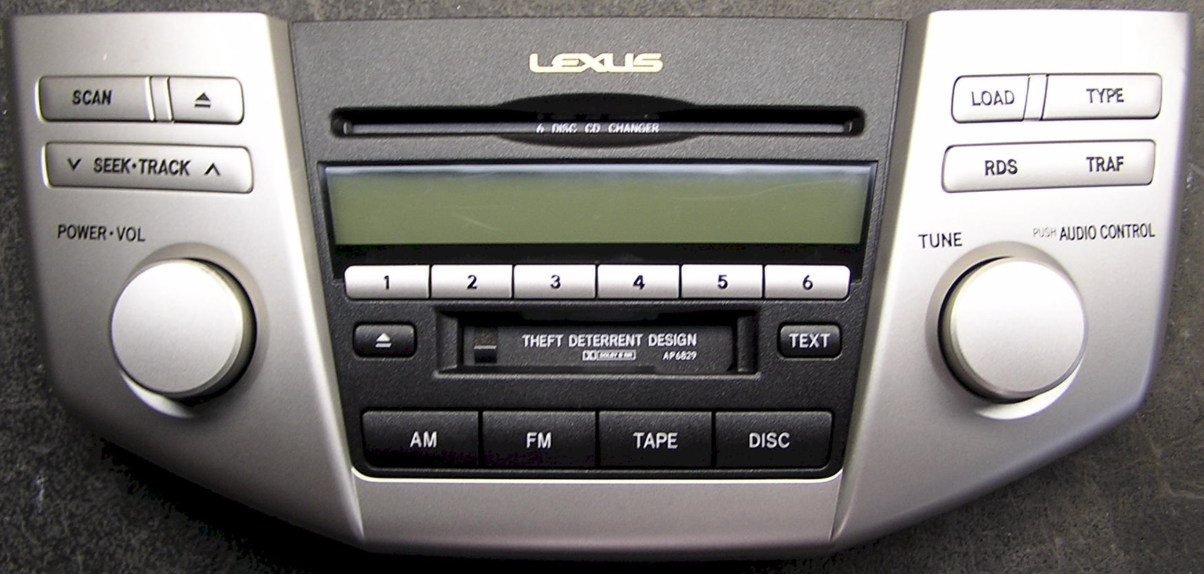 Lexus RX car stereo removal, repair and installation