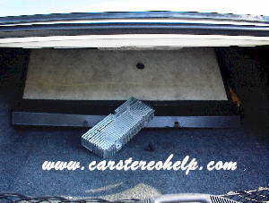 Lincoln Mark VIII How to Remove and Install Amplifier Instruction Guide