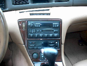 How to Remove and Install Lincoln Mark VIII Car Stereo Instruction