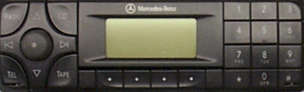 Repairing Mercedes Benz Car Stereos, MBZ Car radio