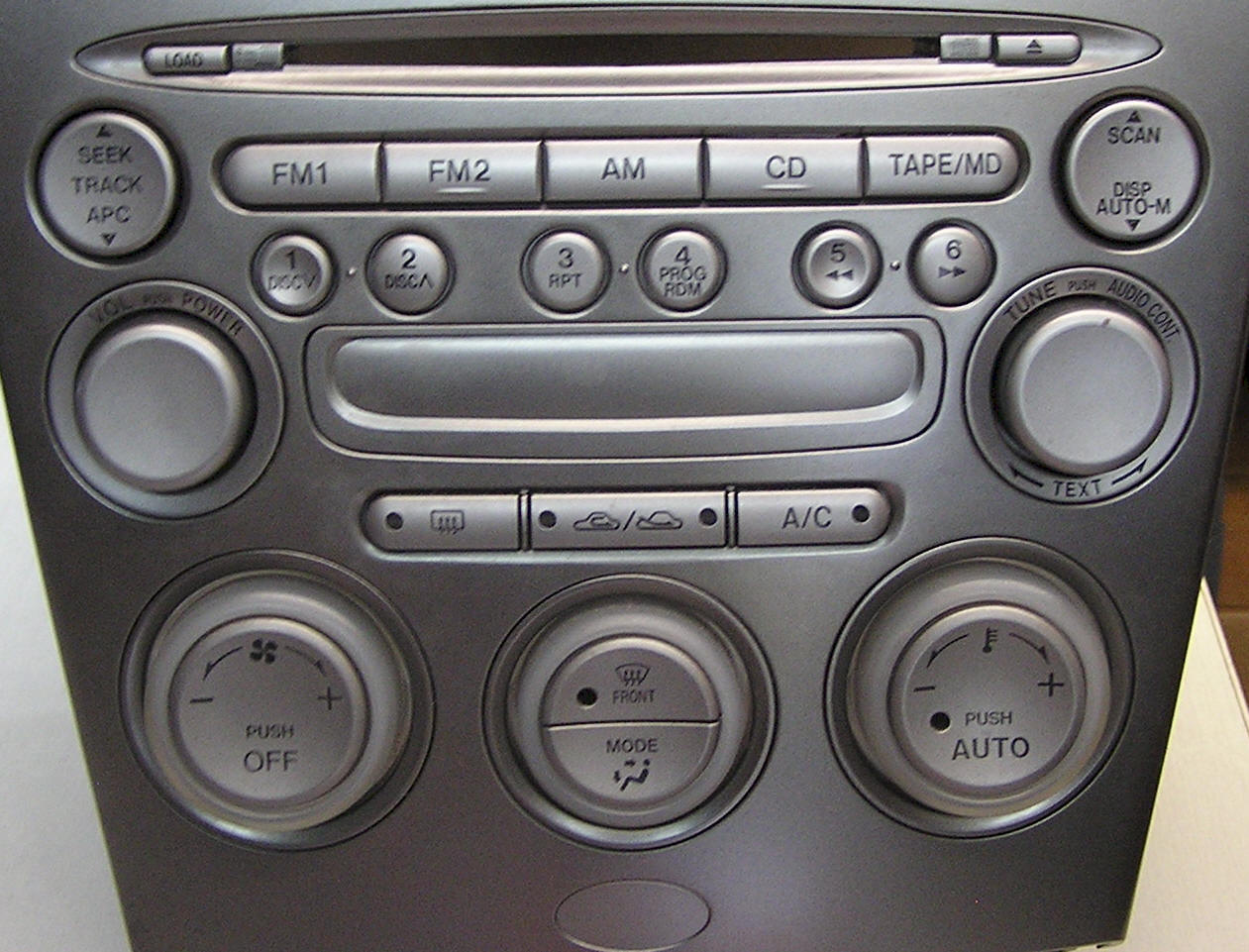 Mazda 6 Factory Car Stereo and CD Player Repair