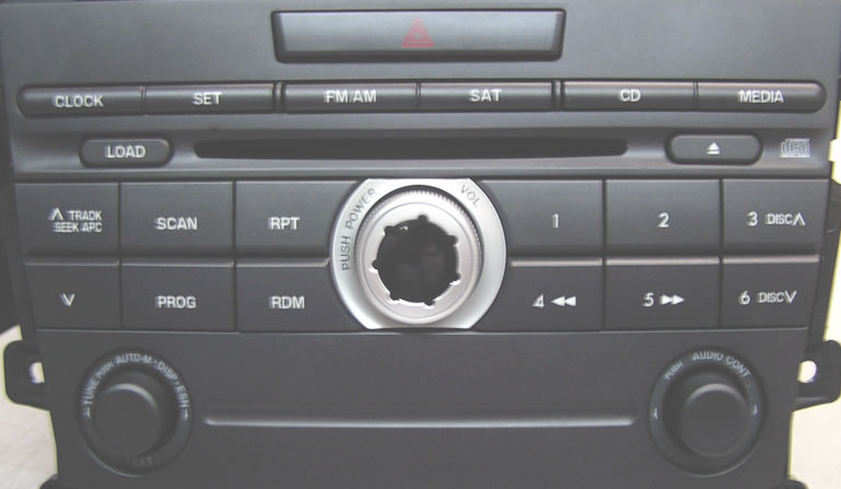 Mazda CX-7 Car Stereo Repair, CD Player Repair at Factory Car Stereo