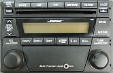 Mazda Bose Stereo With Aux-in