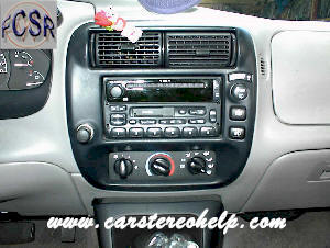 Factory Car Stereo Repair - Mercury Mountaineer car stereo Installation - Bose Amplifier, Speaker and Car Stereo repair