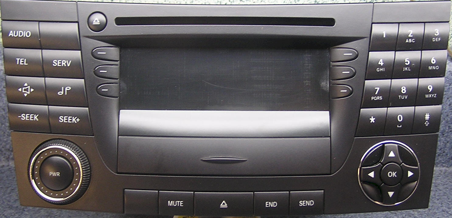 Mercedes Benz CD Player Repair and Removal