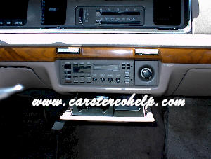 Mercury Grand Marquis How to Remove and Install Car Stereo Guide