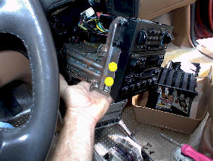 Car Radio Repair, with removal and installation instructions