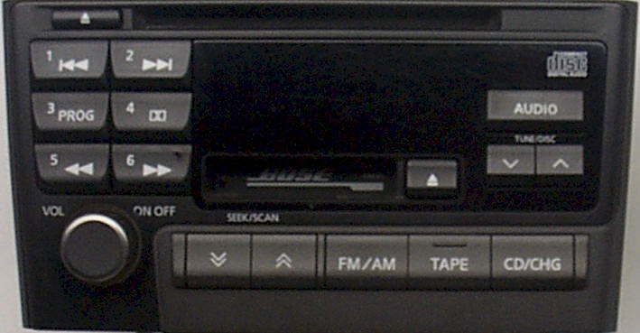 Nissan Maxima Repair Car Radio and How to Remove and Install