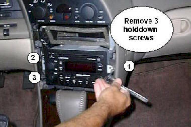 How To Remove and Install Oldsmobile Aurora Car Stereo Inststructions