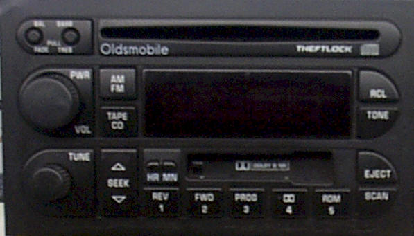 Factory Car Stereo Repair - Oldsmobile car stereo repair - Bose repair