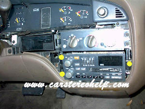 Car Stereo Removal and Installation Instructions - Pontiac Bonneville - Bose Stereo and Speaker / Amp Repair
