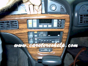 Pontiac Bonneville Car Stereo Removal, Repair and Install Instructions
