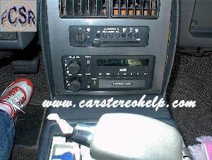 Pontiac How to Remove and Install Car Radio Instructions Guide