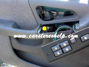 How to Car Stereo Removal and Installation - Pontiac Grand Prix Front Speaker