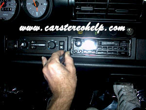 Car Stereo Removal and Installation Instructions - Porsche - Car Stereo and Bose Amp / Speaker repair