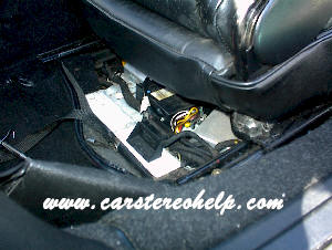 Car Stereo Removal and Installation Instructions - Porsche Carerra