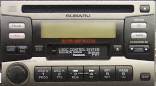 Subaru Car Stereo repair, Auto Radio Removal Instructions, Wire Harness Guides