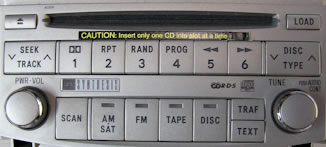Toyota Avalon CD Changer Repair, Factory Car Stereo Repair, Inc.