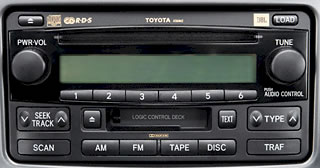Toyota Celica Car Stereo and CD Player Repair