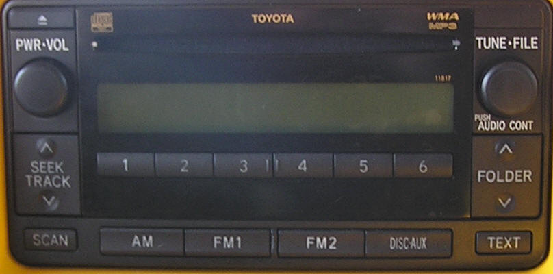 Toyota ECHO Car Stereo and CD Repair Single CD does not operate properly,