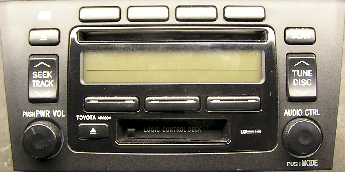 Toyota CD Player Repair
