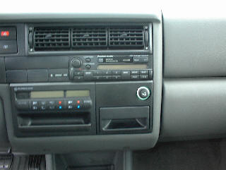 Car Stereo Repair - How to Remove and Install Volkswagen Euro Van Car Stereo - Bose Stereo, Speaker / Amp Repair