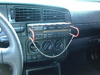 Car Stereo Repair - How to Remove and Install Volkswagen GTI Car Stereo Instructions - Bose Stereo, Speaker / Amp Repair