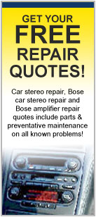 Car Stereo Repair